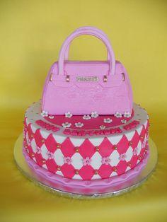 Birkin, Kate Spade, Birthday Cake, Sweet, Bags, Cake Ideas, Food, Handbags, Birthday Cakes