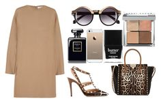 Safari by amode on Polyvore featuring polyvore fashion style Valentino H&M Butter London Bobbi Brown Cosmetics clothing