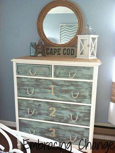 Cape Cod rope dresser pulls :-)