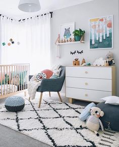 "@pipandsox on Instagram: ""A gorgeous room for a sweet little man featuring some amazing pieces including our Lucie Kaas Elephant and Twig Co Pixie Camera. Styling at its finest by @oh.eight.oh.nine Tap for product details. #inspiration #boysroom #nurseryinspiration #luciekass #twigco #pipandsox"""
