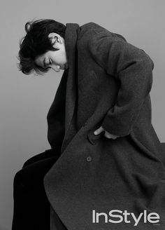 Sung Joon Heart-melting Black and White Shots for InStyle Korea's December 2015 Issue | Couch Kimchi
