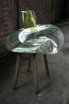 Glass artwork by Pieke Bergmans