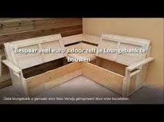 Resultado de imagen de zelf steigerhouten hoekbank maken met opbergruimte