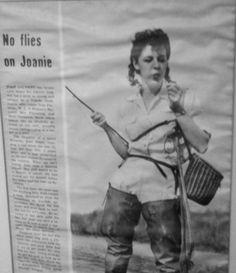 Joan wulff... 1st lady of Fly Fishing