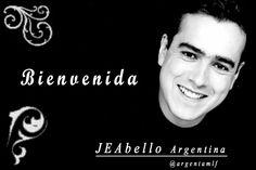 """Tarjeta de """"Bienvenida"""" de la Comunidad de """"JEAbello Argentina"""" - Año 2012."""