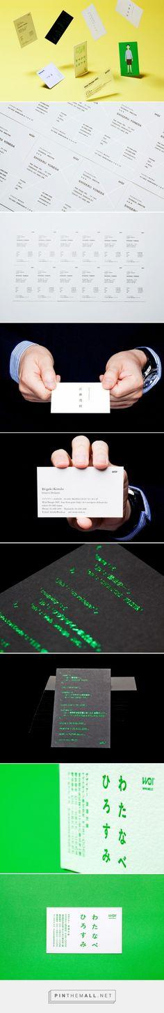 名刺は顔です、だからバラバラにしました|Project|Wab Design INC. - ワヴデザイン株式会社... - a grouped images picture - Pin Them All