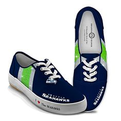 I Love The Seahawks Women's Shoes. These are awesome. So  want them Sammie Gladden Margaret Summers Shannon O'Brien