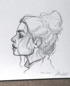 My Sketchbook Art Drawing Girls Female Face Cute Sketch Drawing poses Art Ideas Sketches @madliart www.madli.eu