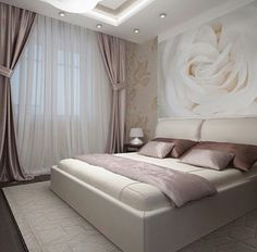 Ideas, Formulas and Shortcuts for Cozy White and Purple Bedroom Decor - decoruntold Purple Bedroom Decor, Romantic Bedroom Decor, Stylish Bedroom, Bedroom Colors, Modern Bedroom, Bedroom Bed Design, Bedroom Furniture Design, Home Room Design, Bedroom Color Schemes