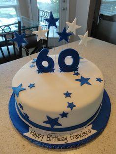 60 th birthday cake Birthday Cakes For Men, Birthday Ideas, Cake Festival, Cake Decorating Icing, Dad Cake, Cake Tower, Ballerina Birthday Parties, Doughnut Cake, Celebration Cakes