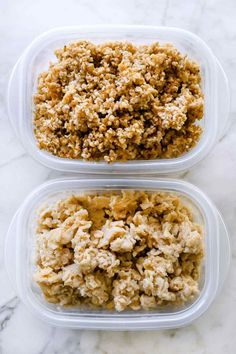 This oatmeal recipe made in an Instant Pot makes make-ahead oatmeal so easy that it's become my new favorite method for both steel cut oats and rolled oats! Instant Pot Oatmeal Recipe, Dairy Free Overnight Oats, Make Ahead Oatmeal, Steel Cut Oats, Oatmeal Recipes, Rolled Oats, Smoothie Recipes, Smoothies, Meals