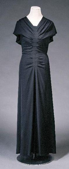 Dress Lucien Lelong, 1930-1935 Musée Galliera de la Mode de la...