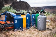 Hydro Flask water bottles are lightweight, nearly indestructible, and just downright fun Hydro Flask Coffee, Hydro Flask Tumbler, Hydro Flask 40 Oz, Hydro Flask Water Bottle, Reusable Water Bottles, Cheap Hydro Flask, Camping Water, Vacuum Flask, Sales And Marketing
