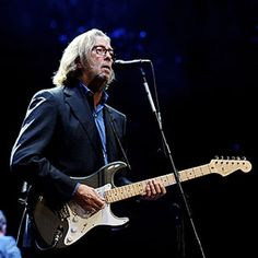 Eric Clapton, a remarkable guitar player.