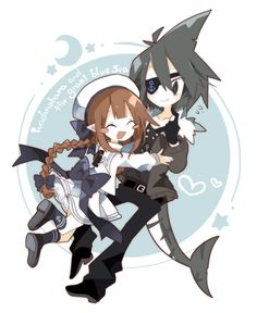 Wadanohara and Samekichi Fandom, Rpg Maker, Grey Gardens, Indie Games, Deep Sea, Aesthetic Anime, Art Reference, Creepy, Give It To Me