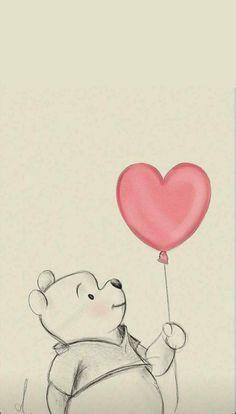 Winnie the pooh Wallpaper by - - Free on ZEDGE™ Disney Drawings Sketches, Cute Cartoon Drawings, Girl Drawing Sketches, Cute Disney Drawings, Girly Drawings, Cool Art Drawings, Cartoon Art, Disney Character Drawings, Cartoon Wallpaper Iphone