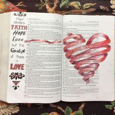 No photo description available. Bible Journaling For Beginners, Bible Study Journal, Scripture Study, Bible Art, Art Journaling, Scripture Journal, Hymn Art, Bible Drawing, Bible Doodling