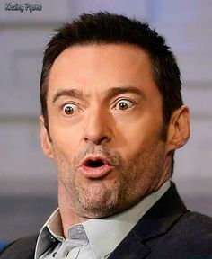 Hugh Jackman, Wolverine, Laughing
