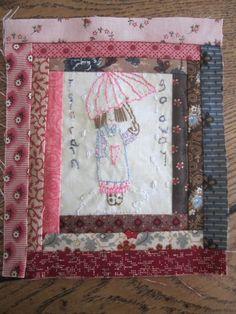 Mini quilt Bloc 4