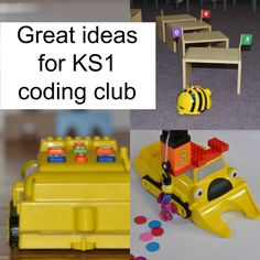 Great ideas for a coding club at primary/elementary school