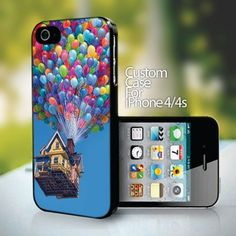 Up Disney Pixar Animation - design for iPhone 4 or 4s case