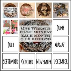 One-wreath-may-button http://countrydesignstyle.com  #wreath #recipes