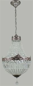 This would be more true to the period . Northern Lighting Picture of Le Bastille 5 Light Crystal Chandelier (Le Lighting Inspirations Bastille, Chandelier, Ceiling Lights, Crystals, Lighting, Period, Design Ideas, Inspiration, Medium