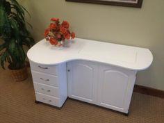 Model 8300 Quilter's Cloud 9 Premium 4 Drawer Cabinet in white. Sewingrite http://www.amazon.com/dp/B00FRDVN5Q/ref=cm_sw_r_pi_dp_QpDawb0M530T1