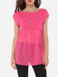 52ce4b5c127 Hollow Out Plain Delightful Boat Neck Blouses Womens Trendy Tops