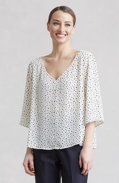 Step out in a top that will have you feeling light and fresh all day long! Perfect for a work day or afternoon out. Designed by Lauren Conrad.