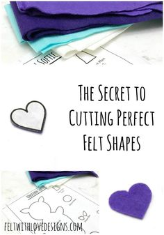How to Cut Felt: The