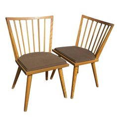 Conant Ball Russel Wright Dining Room Chairs