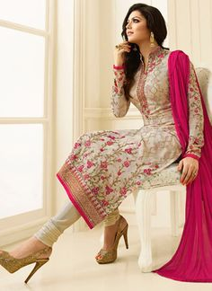 Drashti Dhami dress,indian dresses anarkali,kids indian wear Buy latest salwar kameez from our different range of salwar suits online. Grab this faux georgette cream churidar designer suit. Anarkali, Patiala Salwar, Lehenga Choli, Salwar Suits, Punjabi Suits, Kurti, Indian Bridal Couture, Indian Bridal Outfits, Indian Dresses
