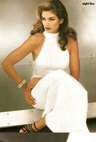 90s style Cindy Crawford- all the girls wanted to BE her!