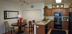 Great Kitchen!  The Falls at Riverwoods Apartment Homes, Logan, Utah