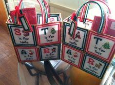 Handmade Christmas Gift Bag #Handmade #Christmas
