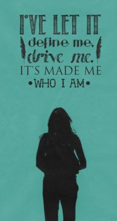 """But I want to be more than who I am."" - Kate Beckett #Castle"