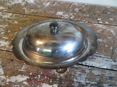 Items similar to Silver Butter Dish Vintage Butter Dish Thanksgiving Dish Covered Butter Dish Glass Butter Dish Shabby Decor Cottage Decor on Etsy Glass Tray, Thanksgiving Table, Butter Dish, Shabby, Dishes, Silver, Vintage, Etsy, Decor
