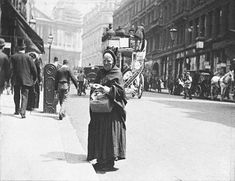 Matchseller, Ludgate Hill: 1893
