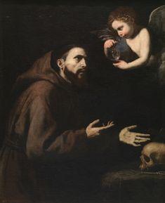 Vision of Saint Francis of Assisi - The Collection - Museo Nacional del Prado