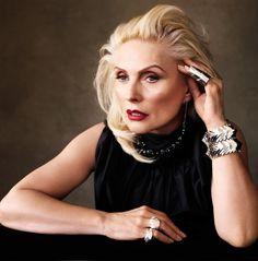 Debbie Harry, Blondie (age 67) for Vogue Spain, May 2013.