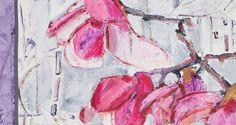ARGO - Art design Magnolia Scarf