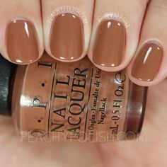OPI Inside The Isabelletway   Fall 2016 Washington D.C. Collection   Peachy Polish   www.ScarlettAvery.com
