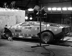 En 1974 un Coutach hizo las pruebas de choque frontal del MIRA (La Asociación de Investigación de la Industria del Automovil) algo no tan habitual como ahora; la paso con nota.
