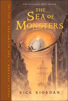 The Sea of Monsters (Percy Jackson and the Olympians Series #2)  byRick Riordan