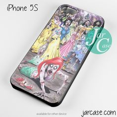 all princess zombie Phone case for iPhone 4/4s/5/5c/5s/6/6 plus