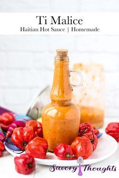 Hot Sauce Recipes, Donut Recipes, Indian Hot Sauce Recipe, Vegan Recipes, Spicy Coleslaw, New Orleans Recipes, Haitian Food Recipes, Caribbean Recipes, Caribbean Food