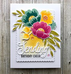 Hi there! I'm back with more of the cards from the Gran's Garden collection of cards I created as Christmas gifts, if you missed ye...
