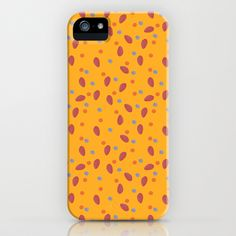 yellow dotty iPhone & iPod Case by cardboardcities - $35.00