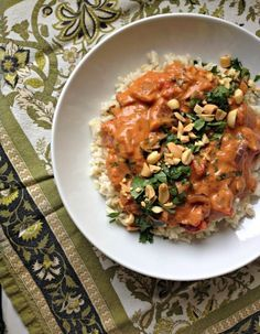 Ghanaian fish stew cloves paprika fennel interesting great homes great food african peanut stew with greens vegetarian at an awesome african ashanti home in cape coast ghana forumfinder Choice Image